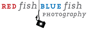 Red Fish Blue Fish Photography Logo